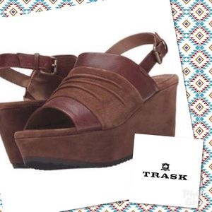 New Trask Sundance Catalog Wedge Shoes 9.5